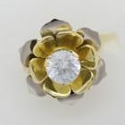 Prsten lotosový květ
