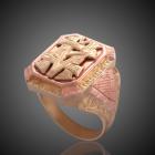 Pánský pečetní prsten