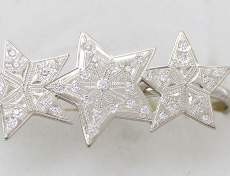 Prsten hvězdy na dva prsty