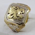 Pečetní prsten lev