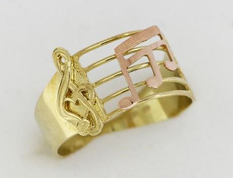 Zlatý prsten notová soustava