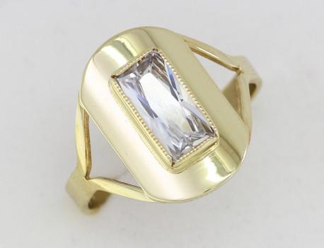 dámský prsten s kamenem