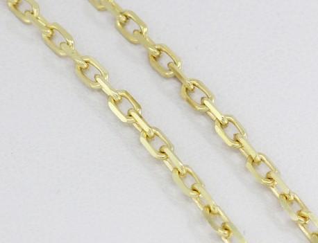 Zlatý řetízek pilovaný