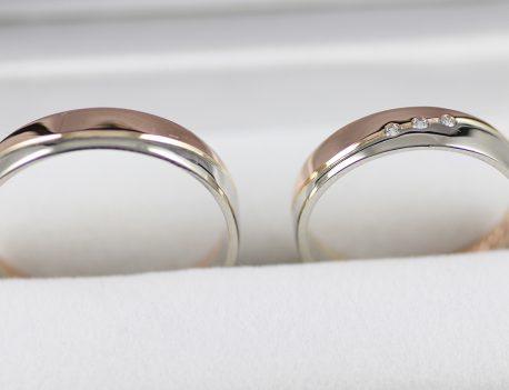 Snubní prsteny ručně vyrobené